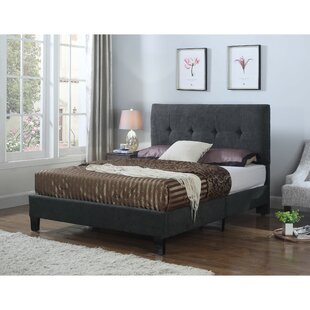Wrought Studio Borum Upholstered Panel Bed