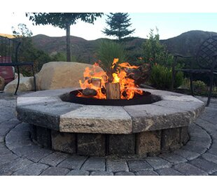 Volcano Grills Steel Wood Burning Fire Pit