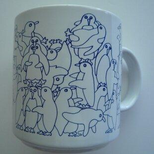 Buell 11 oz. Daytime Penguins Mug