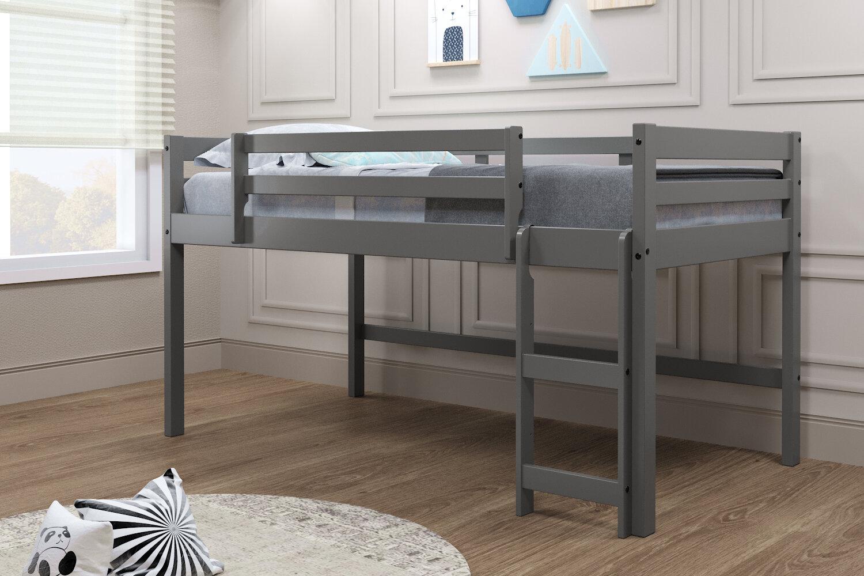 Harriet Bee Brynne Twin Low Loft Bed Wayfair