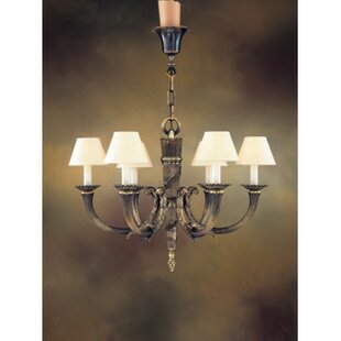 Zanin Lighting Inc. Almeria 6-Light Shaded Chandelier