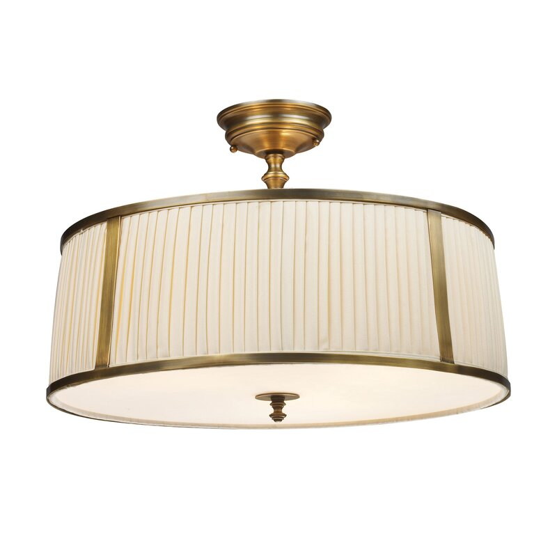 Bethany 4-Light Semi Flush Mount