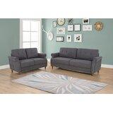 Wattson 2 Piece Living Room Set by Red Barrel Studio®