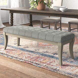 Elspeth Upholstered Bench by Kelly Clarkson Home