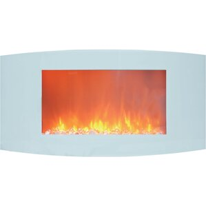 Bevers Wall Mount Electric Fireplace by Ebern Designs