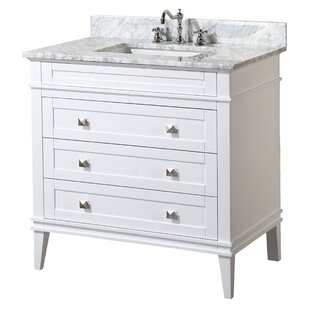 Compare prices Eleanor 36 Single Bathroom Vanity Set ByKitchen Bath Collection