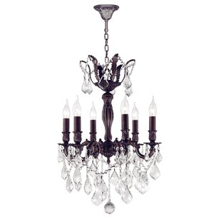 Best Dodson 6-Light Chain Candle Style Chandelier By Astoria Grand