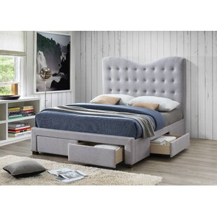 Review Couto Upholstered Bed Frame