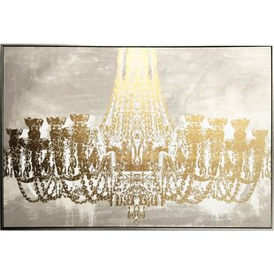 Gala Night Luxe  Framed Graphic Art on Canvas 328d295282