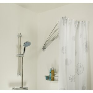 umbrella cm fixed shower curtain rail with shower curtain rails