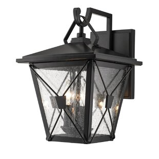 Price Check Hannah 3-Light Outdoor Wall Lantern By Gracie Oaks
