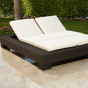 Ropp Double Chaise Lounge With Cushion