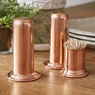 Mosby 3 Piece Salt U0026 Pepper Shaker Set