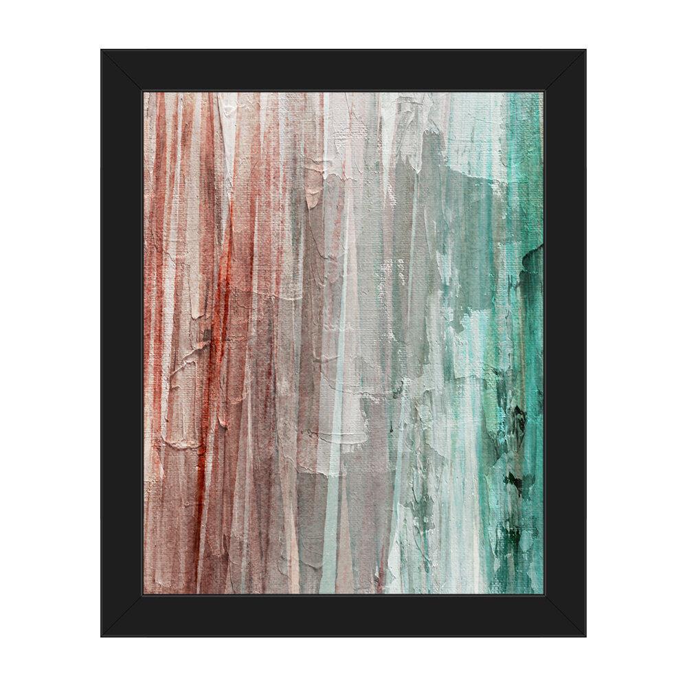 Click Wall Art Spectrum Nautica Framed Painting Print On Canvas Wayfair