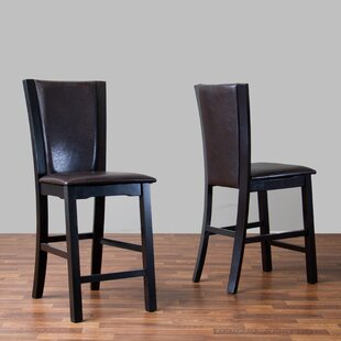 Lucrezia 24 Bar Stool (Set of 2) by Andover Mills