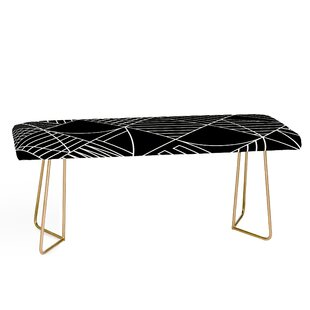 Fimbis Whackadoodle Faux Leather Bench by East Urban Home
