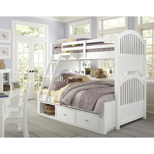 Nickelsville Twin Over Full Bunk Bed with Storage by Three Posts