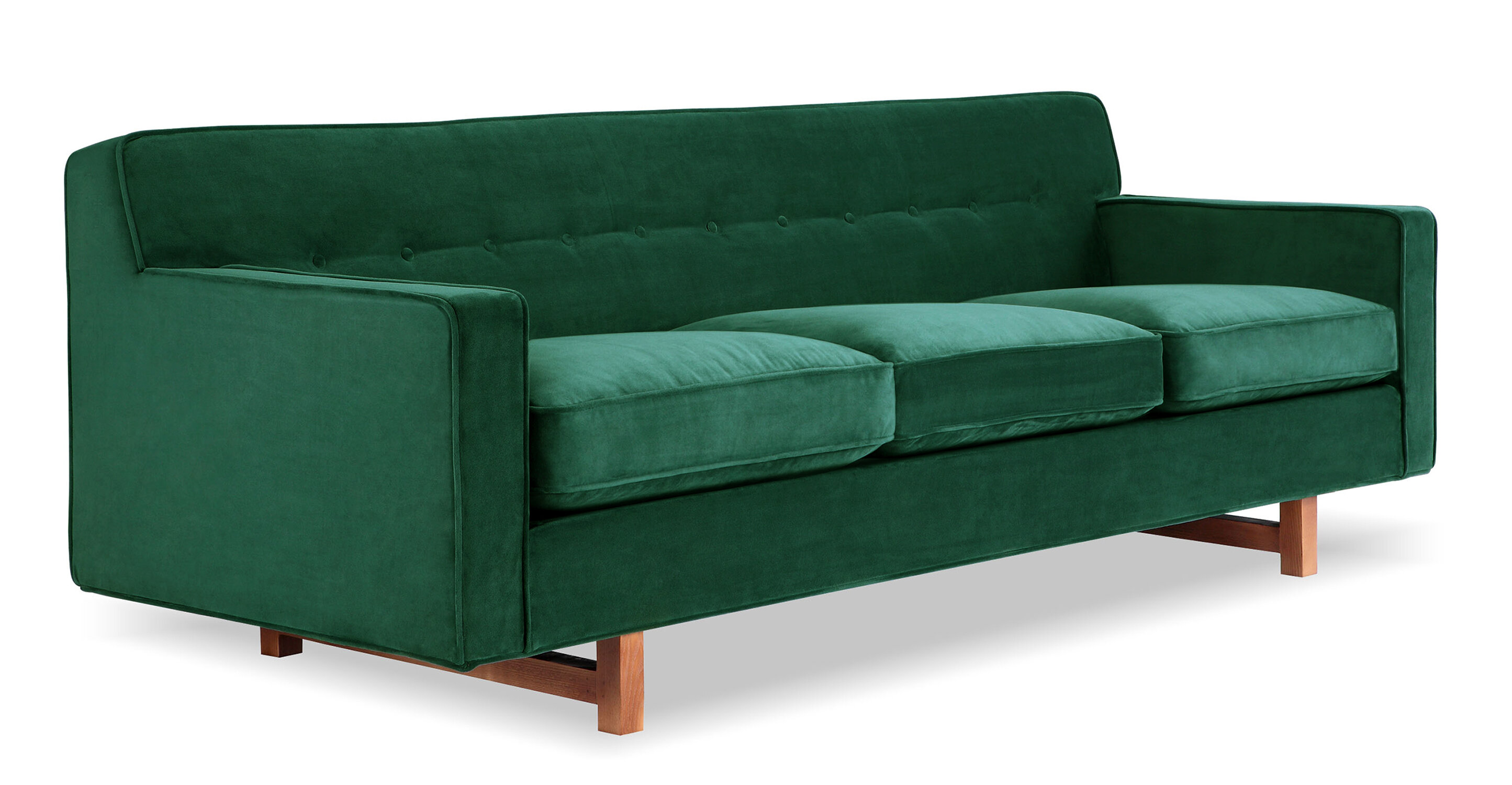 Lomonaco Mid-Century Modern Classic Sofa