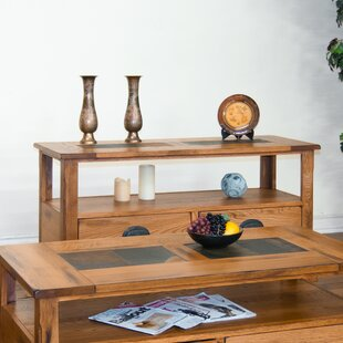 Loon Peak Fresno Console Table with Lower..