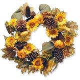 22 Autumn Sunflower Wreath