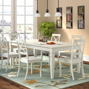 Beilby 7 Piece Dining Set by DarHome Co Comparison