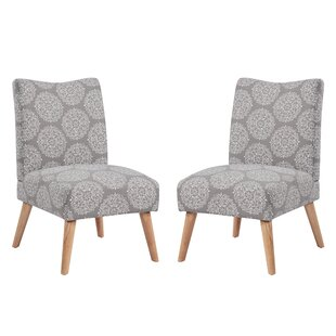 Bungalow Rose Jake Parsons Chair (Set of 2)
