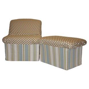 Read Reviews Josh Combination Cloud Teen Foam Chair and Ottoman ByFun Furnishings