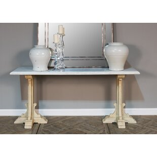 Sarreid Ltd Radford Marble Console Table