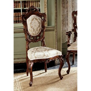 Toulon French Rococo Fabric Side Chair by Design Toscano