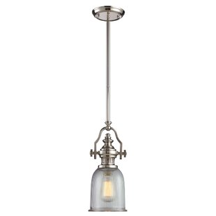 Roa 1-Light Bell Pendant b..