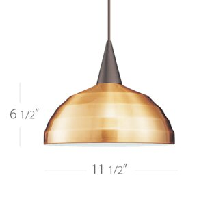 WAC Lighting Felis Monopoint 1-Light Inverted Pendant