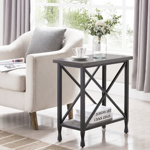 Cavallo Narrow End Table by Charlton Home