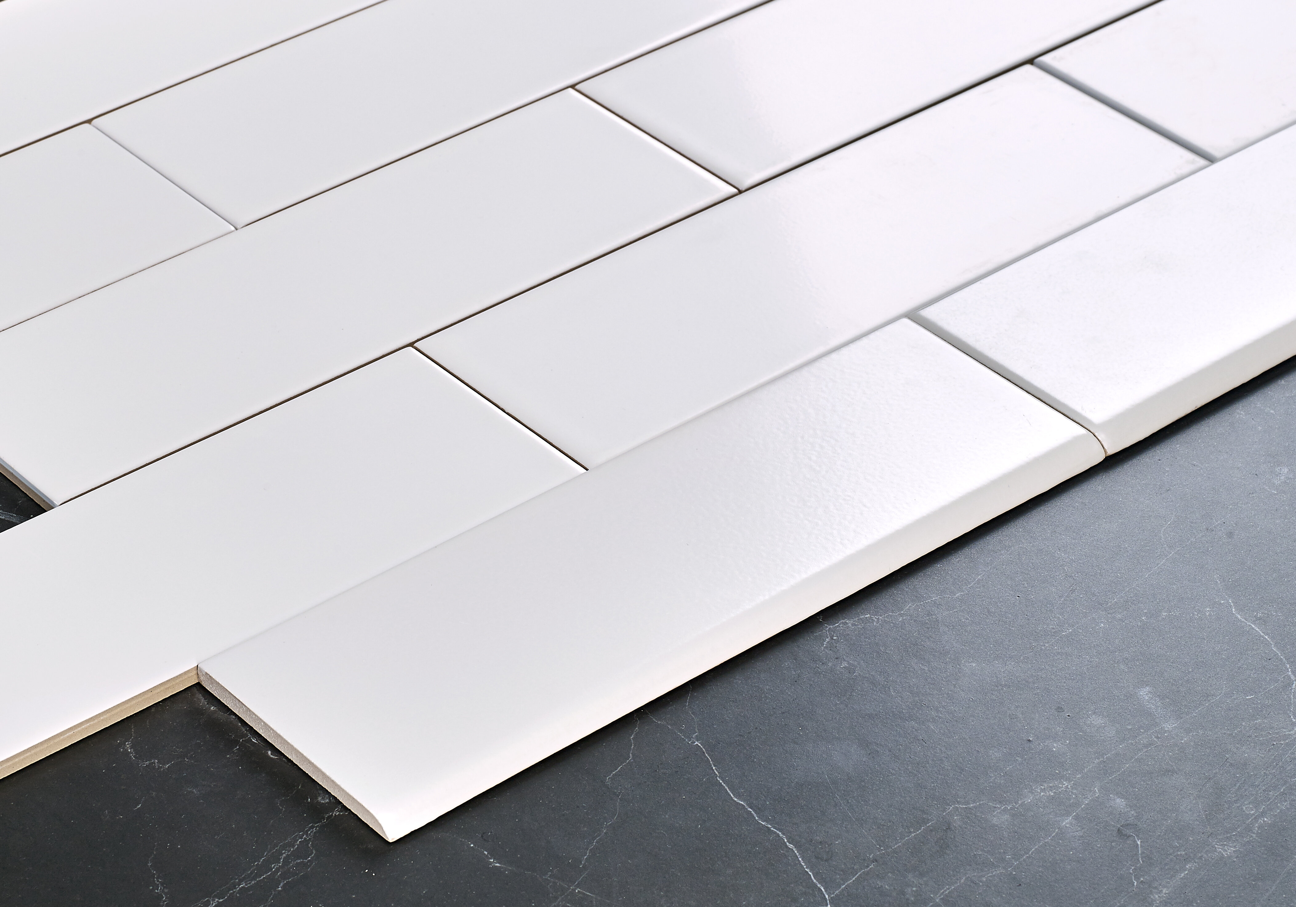 Ceramic Bullnose Tile Trim