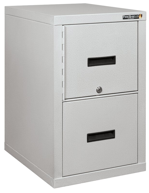Turtle Lightweight Vertical Fireproof File Safe With Key Lock