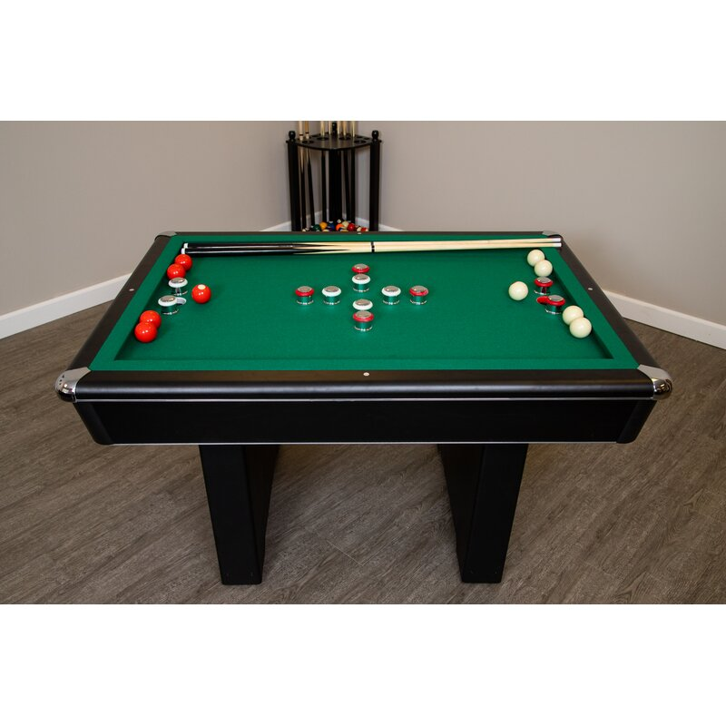 Hathaway Games 4.5' Bumper Pool Table with Accessories & Reviews