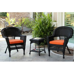 Byxbee 3 Piece Conversation Set with Cushions