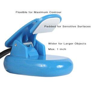 Symple Stuff Ahern Flexible LED Clip 9'' Desk Lamp