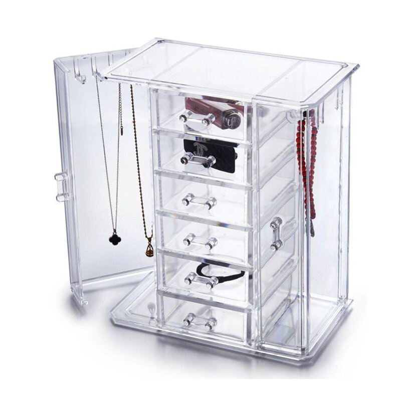 Vandue Corporation OnDisplay Tiered Acrylic Jewelry Cabinet