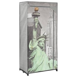 New York 75cm Wide Portable Wardrobe By Symple Stuff