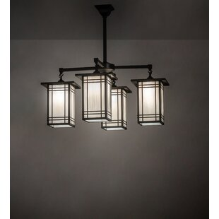 Shaded Square Rectangle Chandeliers You Ll Love In 2021 Wayfair