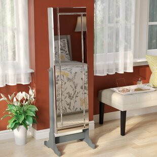 Comparison Brechin Free standing Jewelry Armoire with Mirror ByAlcott Hill