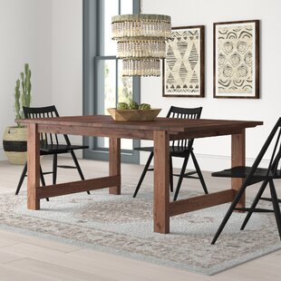 Trevion Trestle Extendable Dining Table Mistana