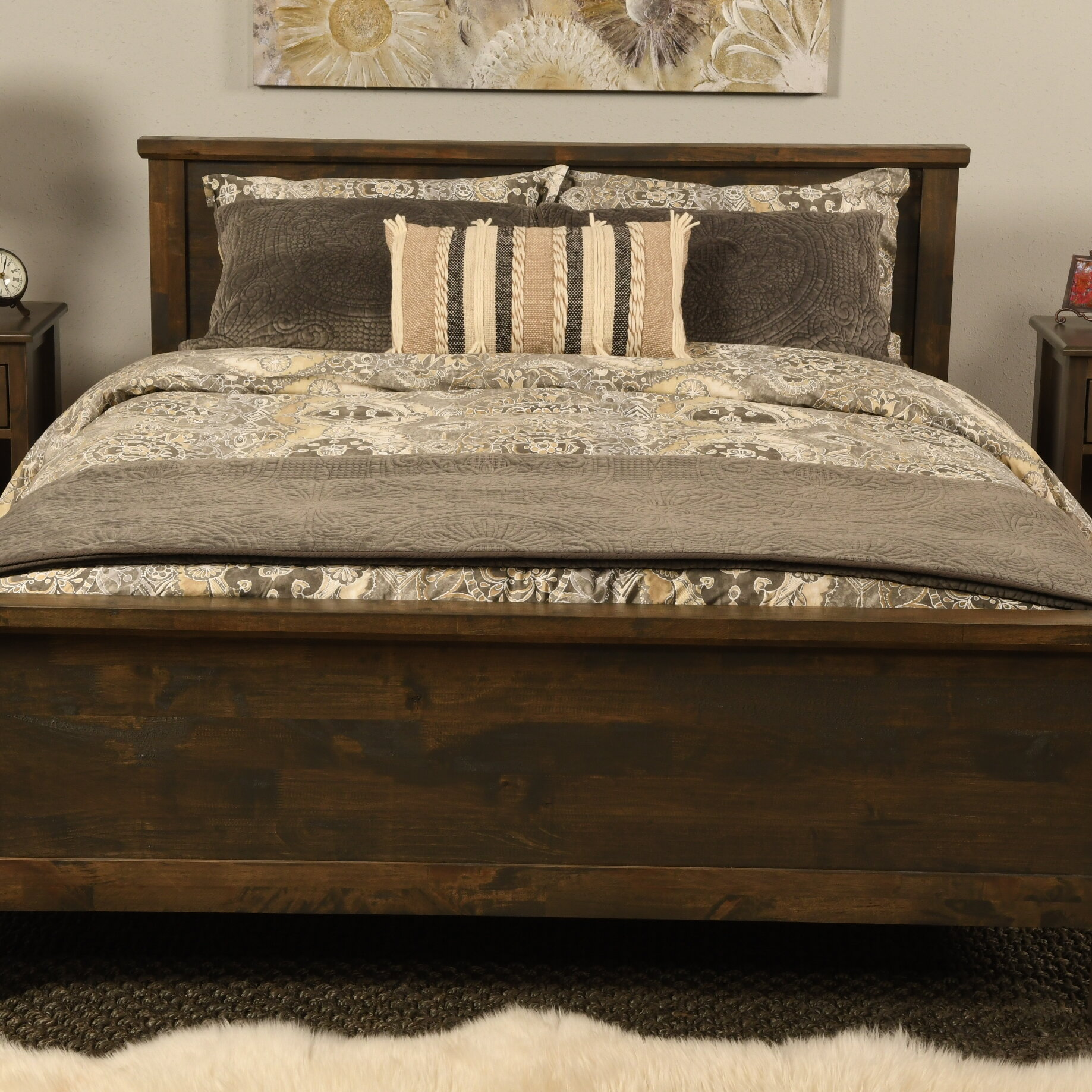 Foundry Select Decker Queen Solid Wood Platform Bed Reviews