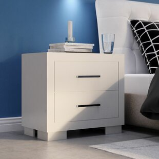 Wade Logan 2 Drawer Nightstand