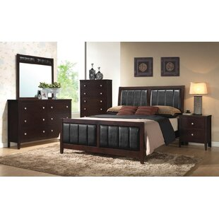 Lucy Upholstered Panel Configurable Bedroom Set
