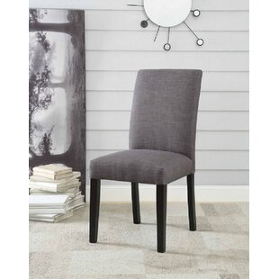 Eby Upholstered Dining Chair (Set of 2) Charlton Home