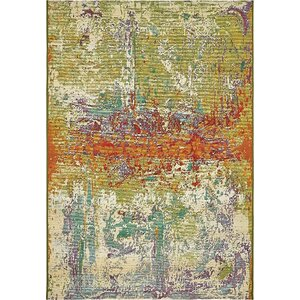 Mandy Green Indoor/Outdoor Area Rug