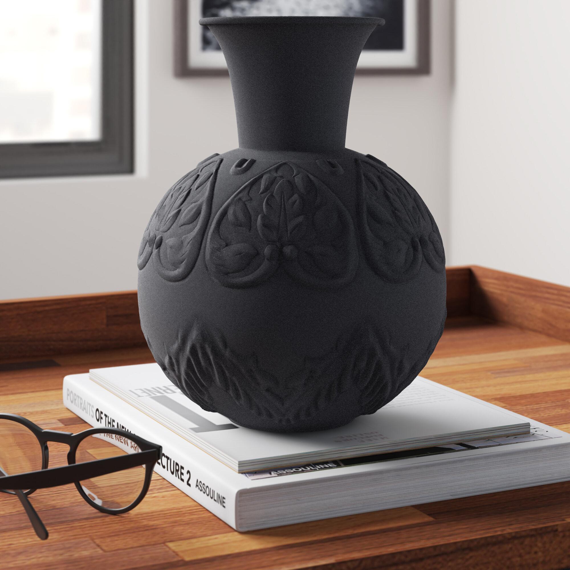 Modern Black Vases Allmodern