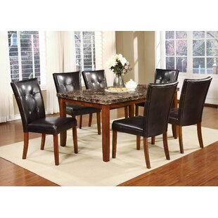 Shirly 7 Piece Dining Set Red Barrel Studio
