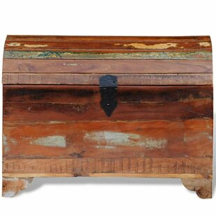 Alyse Reclaimed Solid Wood Storage Chest By Bloomsbury Market